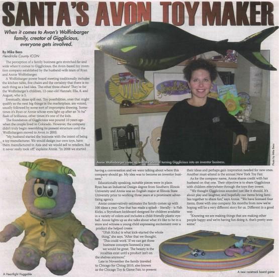 Santa's Avon Toymaker