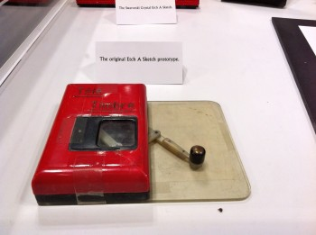 The Original Etch-A-Sketch Prototype